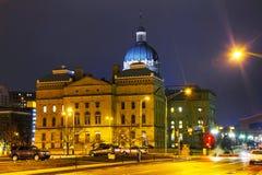 De Bouw van het Capitool van de Staat van Indiana Stock Afbeelding