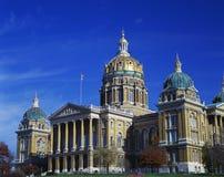 De bouw van het Capitool van de Staat van Iowa stock afbeeldingen