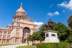 De Bouw van het Capitool van de Staat van Texas in Austin Stock Afbeeldingen