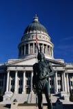 De bouw van het Capitool van de Staat van Utah Stock Foto's