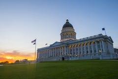 De Bouw van het Capitool van de Staat van Utah Royalty-vrije Stock Afbeelding