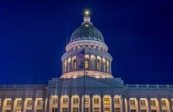 De Bouw van het Capitool van de Staat van Utah Stock Fotografie