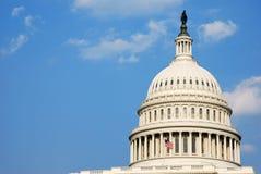 De Bouw van het Capitool van de V.S., Washington DC Stock Fotografie