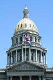 De Bouw van het Capitool van Denver stock foto