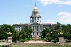 De Bouw van het Capitool van Denver Royalty-vrije Stock Afbeelding