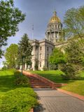 De Bouw van het Capitool van Denver stock fotografie
