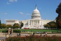 De Bouw van het Capitool van het Washington DC Stock Foto's