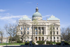De Bouw van het Capitool van Indiana royalty-vrije stock foto's