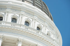 De Bouw van het Capitool van Sacramento van Californië royalty-vrije stock foto's