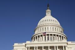 De Bouw van het Capitool van Verenigde Staten, Washington, gelijkstroom stock afbeelding