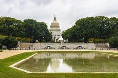 De Bouw van het Capitool van Verenigde Staten in Washington DC stock afbeelding