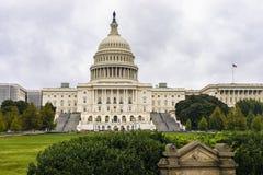 De Bouw van het Capitool van Verenigde Staten in Washington DC stock afbeeldingen