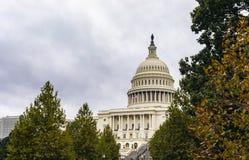 De Bouw van het Capitool van Verenigde Staten in Washington DC royalty-vrije stock foto