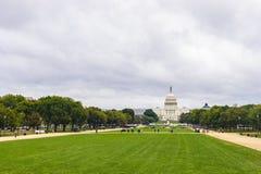De Bouw van het Capitool van Verenigde Staten in Washington DC stock foto