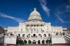 De Bouw van het Capitool, Washington DC Stock Foto
