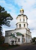 De bouw van het collegium met kerk in Chernigiv Ukrain Stock Afbeelding