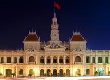 De Bouw van het Comité van People´s, HCMC royalty-vrije stock foto's