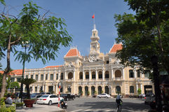 De Bouw van het Comité van volkeren, Vietnam Stock Foto's