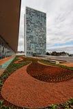De Bouw van het congres in Brasilia Stock Fotografie