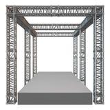 De bouw van het de balkdak van de staalbundel royalty-vrije illustratie
