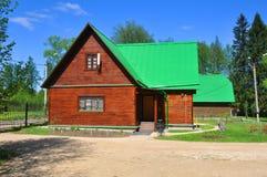 De bouw van het Directoraat van de museum-Reserve Abramtsevo Het Gebied van Moskou, Rusland royalty-vrije stock afbeelding