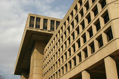De bouw van het FBI Stock Fotografie