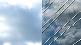De bouw van het glas Royalty-vrije Stock Fotografie