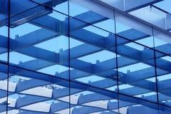 De bouw van het glas Stock Fotografie