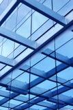 De bouw van het glas stock afbeelding