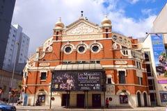 De bouw van het Grote Operahuis Royalty-vrije Stock Afbeeldingen