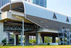 De bouw van het Hemelstation in Bangkok Mening van outs Royalty-vrije Stock Fotografie