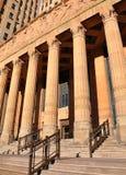 De Bouw van het Hof van de Rechtvaardigheid van de gemeenteverordening met Kolommen royalty-vrije stock foto's