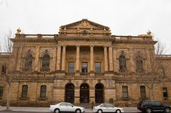 De Bouw van het Hof van Surpreme Stock Fotografie