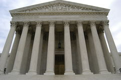 De Bouw van het Hooggerechtshof stock foto's