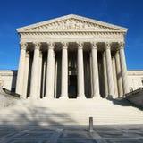 De Bouw van het Hooggerechtshof Stock Afbeelding