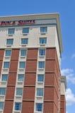 De bouw van het hotel Royalty-vrije Stock Fotografie