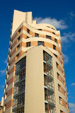 De bouw van het hotel Royalty-vrije Stock Foto