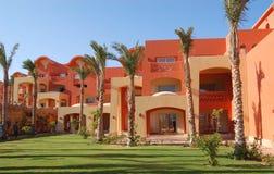 De bouw van het hotel, de Sjeik van Sharm Gr, Egypte Stock Fotografie
