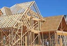 De bouw van het huis Royalty-vrije Stock Afbeelding
