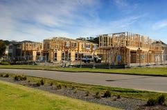 De bouw van het huis Royalty-vrije Stock Fotografie