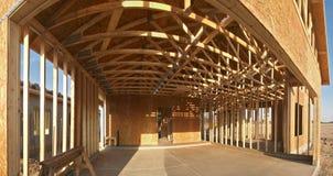 De bouw van het huis. Stock Foto