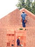 De bouw van het huis Royalty-vrije Stock Foto's