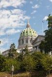 De Bouw van het Huis & van het Capitool van de Staat van Pennsylvania Stock Foto's