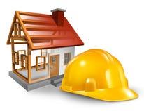 De Bouw van het huis vector illustratie