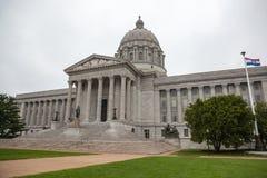 De Bouw van het Huis en van het Capitool van de Staat van Missouri Royalty-vrije Stock Afbeeldingen