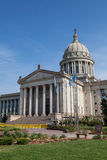 De Bouw van het Huis en van het Capitool van de Staat van Oklahoma royalty-vrije stock foto's