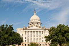 De Bouw van het Huis en van het Capitool van de Staat van Oklahoma Stock Foto's