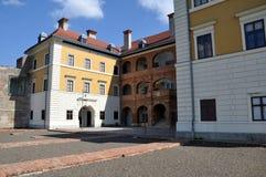 De bouw van het Ilokmuseum Stock Afbeelding