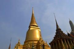 DE BOUW VAN HET KONINGENpaleis IN BANGKOK THAILAND Royalty-vrije Stock Afbeelding