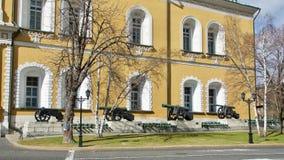 De bouw van het Kremlin Stock Fotografie